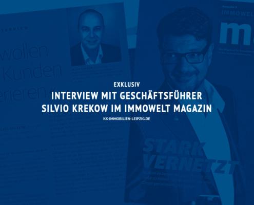 Interview mit Silvio Krekow im Immowelt Magazin