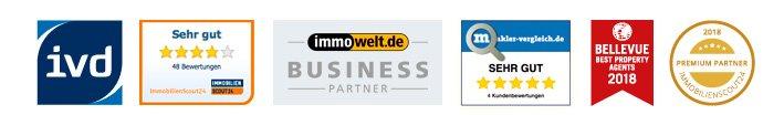 Partner & Auszeichnungen der Koengeter & Krekow Immobilien GmbH