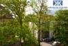 Ruhige Wohnungen in Gohlis - Blick in den Hof