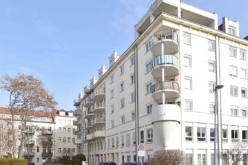 Vollmöbliertes Cityapartment mit Balkon & TG-Stellplatz, 04103 Leipzig / Leipzig Zentrum-Ost, Dachgeschosswohnung