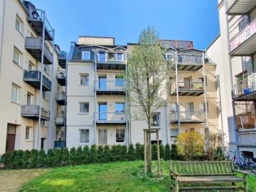 Apartment in beliebter Lage und ruhigem Hinterhof, 04109 Leipzig / Leipzig Zentrum-West, Etagenwohnung