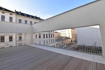 Exklusives Stadthaus mit Dachterrasse im Erstbezug, 04103 Leipzig / Leipzig Zentrum-Südost, Maisonettewohnung