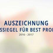 Europas größtes Immobilien-Magazin BELLEVUE vergibt Qualitätssiegel an die Koengeter & Krekow Immobilien GmbH